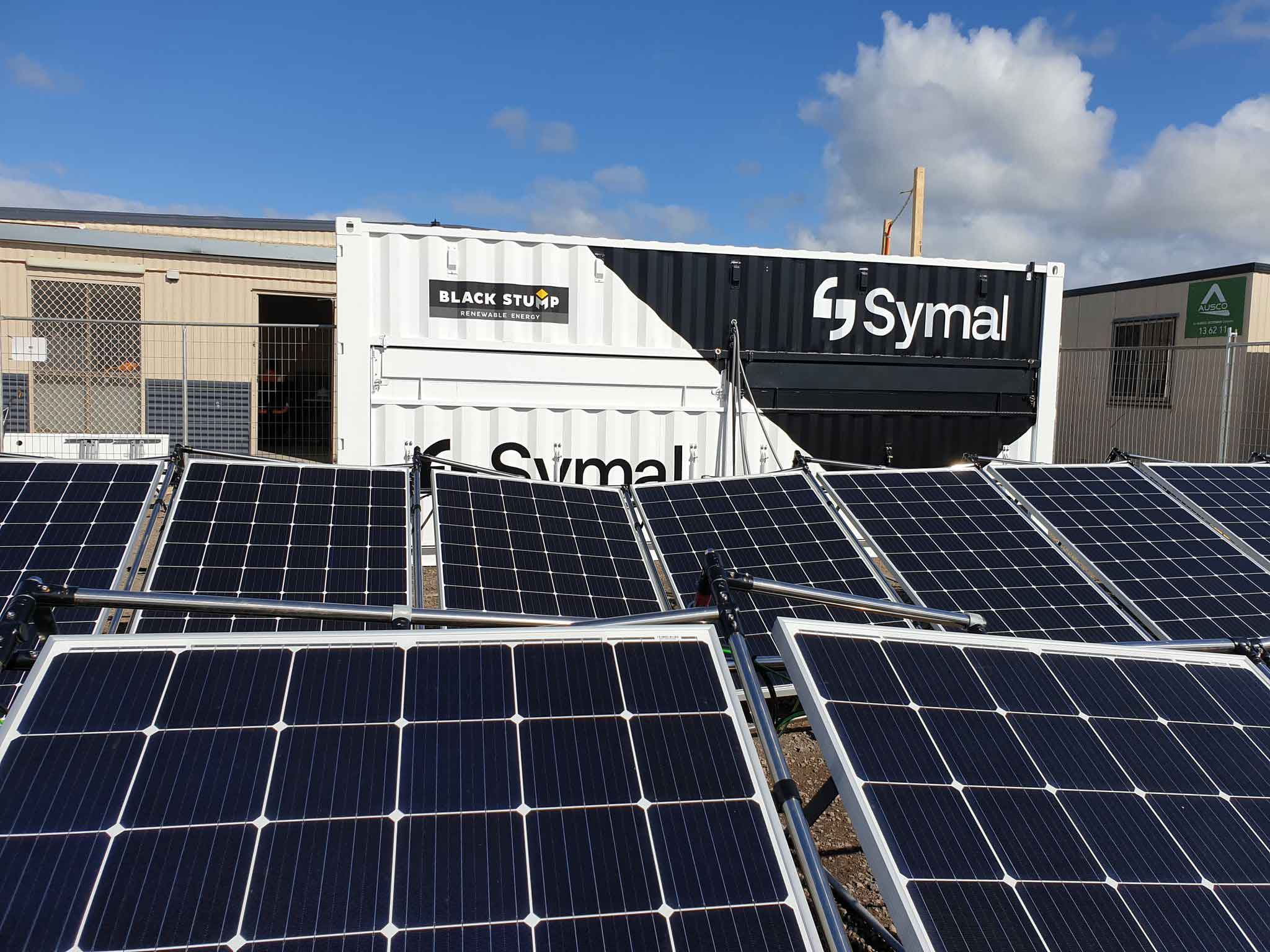 Black Stump Technologies mobile solar power generators.